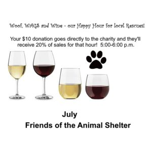 Woof, WAGS and Wine - Friends of the Animal Shelter
