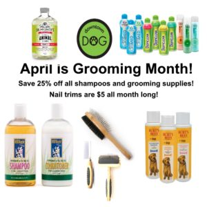 April is GROOMING Month